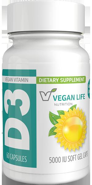 Vitamin D3 5000 IU Bottle