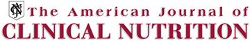 American Journal of Clinical Nutrition logo