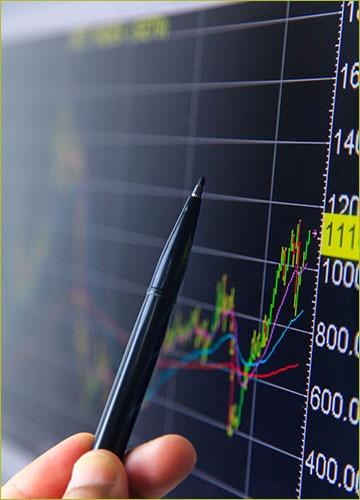 Statistician Analyzing Chart