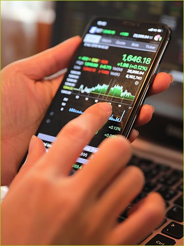 Investing in Vegan phone with stock market