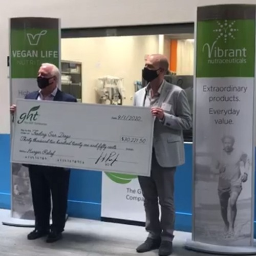 The GHT Companies to Present Final $30,000 Fundraising Check for Feeding San Diego